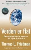 """""""Verden er flat den globaliserte verden i et nytt århundre"""" av Thomas L. Friedman"""