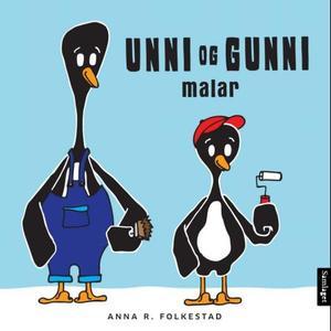 """""""Unni og Gunni malar"""" av Anna R. Folkestad"""