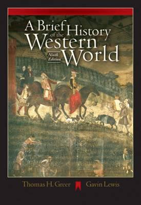 """""""A Brief History of the Western World"""" av T. Greer"""