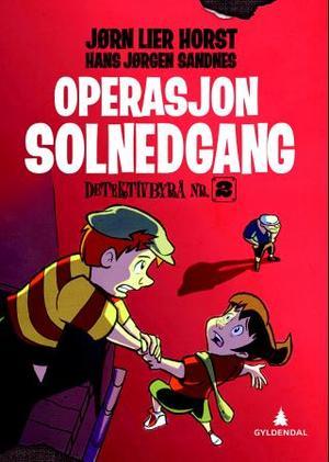"""""""Operasjon Solnedgang"""" av Jørn Lier Horst"""