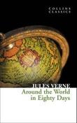 """""""Around the world in 80 days"""" av Jules Verne"""