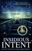 """""""Insidious intent"""" av Val McDermid"""