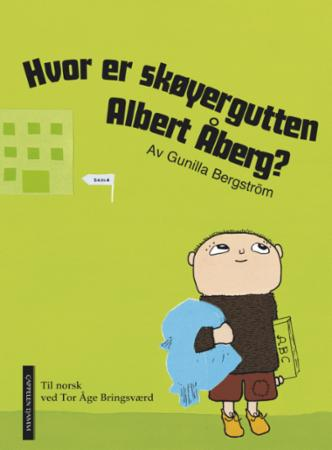 """""""Hvor er skøyergutten Albert Åberg?"""" av Gunilla Bergström"""
