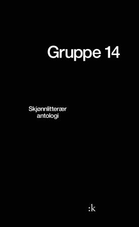 """""""Gruppe 14 - skjønnlitterær antologi"""" av Karin Nygård"""