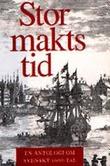 """""""Stormaktstid - En antologi om svenskt 1600-tal"""" av Magnus Bergsten"""