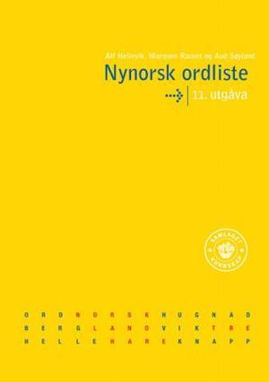 """Nynorsk ordliste"" av Alf Hellevik"