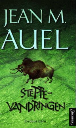 """""""Steppevandringen"""" av Jean M. Auel"""