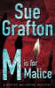 """M is for malice"" av Sue Grafton"