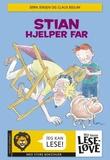 """""""Stian hjelper far"""" av Jørn Jensen"""