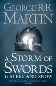 """A storm of swords steel and snow"" av George R.R. Martin"