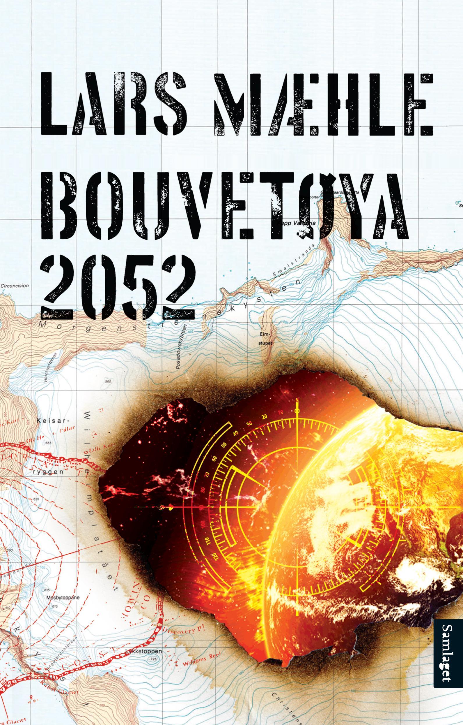 """""""Bouvetøya 2052 - roman"""" av Lars Mæhle"""