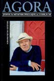 """""""Agora. Nr. 2-3/2000 - journal for metafysisk spekulasjon"""" av Ragnar Braastad Myklebust"""