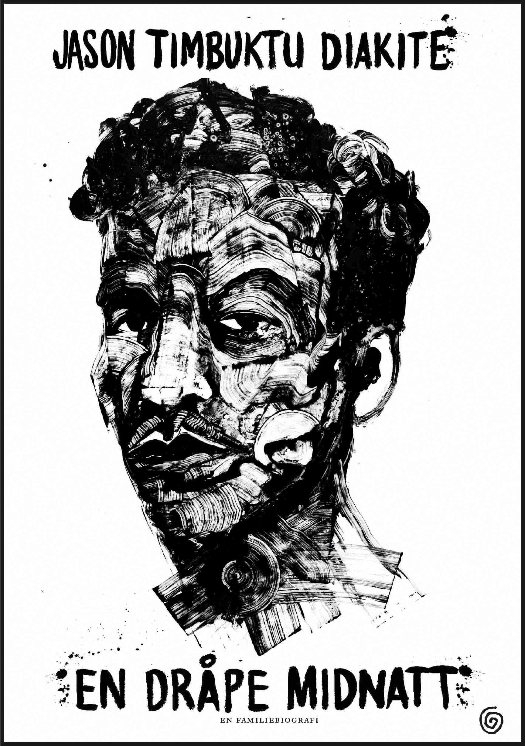"""""""En dråpe midnatt - en familiebiografi"""" av Jason Timbuktu Diakité"""