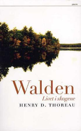 """""""Walden - livet i skogene"""" av Henry D. Thoreau"""