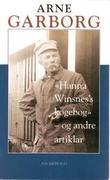 """""""Hanna Winsnes's kogebog og andre artiklar"""" av Arne Garborg"""