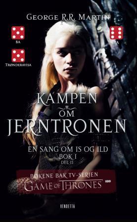 """Kampen om jerntronen - bok 1 - del 2"" av George R.R. Martin"