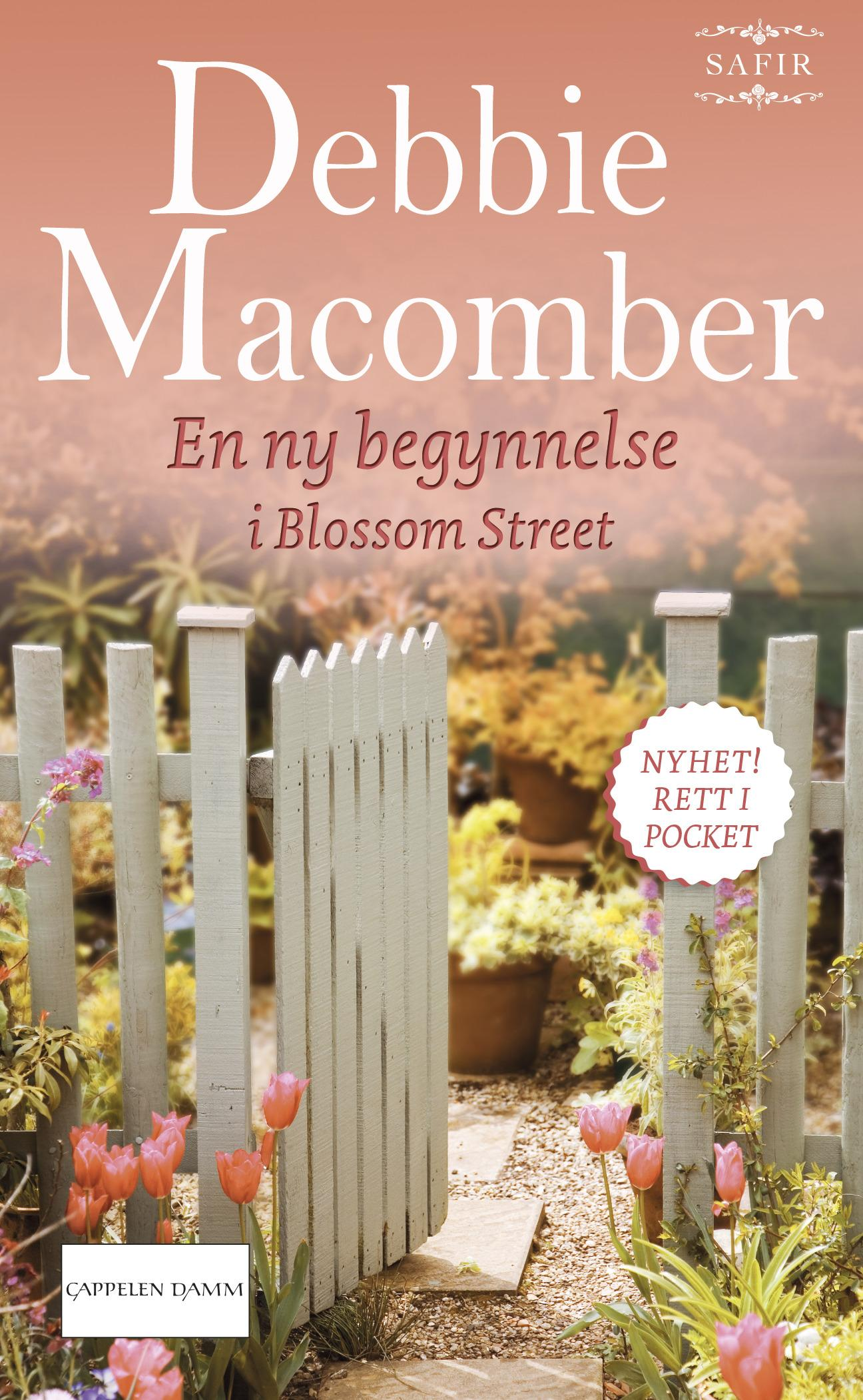 """""""En ny begynnelse i Blossom Street"""" av Debbie Macomber"""
