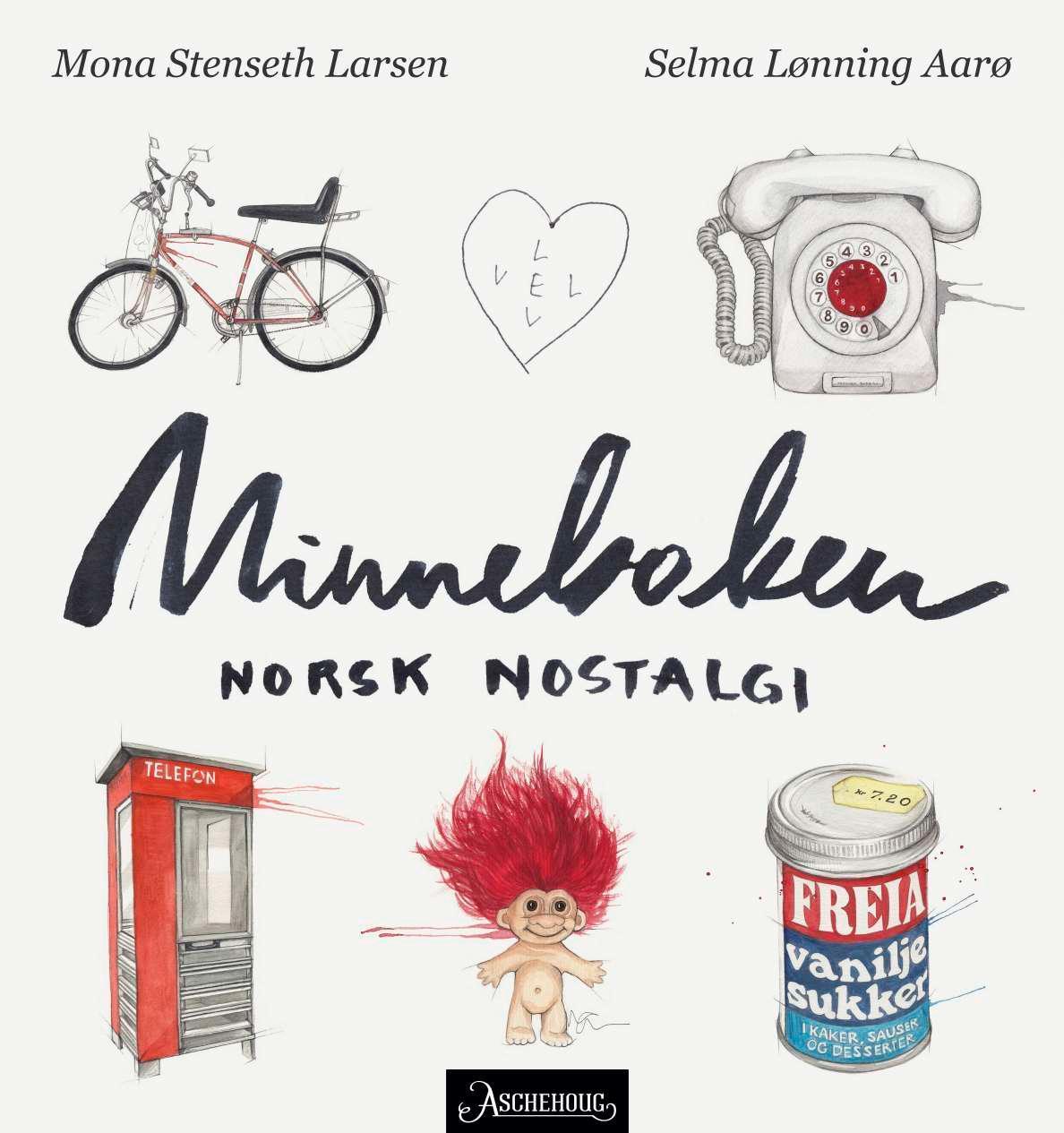 """""""Minneboken - norsk nostalgi"""" av Mona Stenseth Larsen"""
