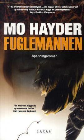 """""""Fuglemannen - spenningsroman"""" av Mo Hayder"""
