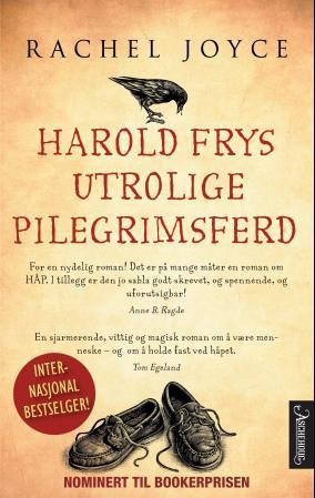 """Harold Frys utrolige pilegrimsferd"" av Rachel Joyce"
