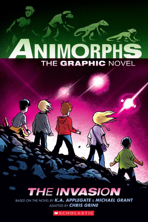 """""""The Invasion (Animorphs Graphix #1) - Animorphs Graphix #1"""" av Katherine Alice Applegate"""