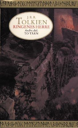 """To tårn - andre del av Ringenes herre"" av J.R.R. Tolkien"
