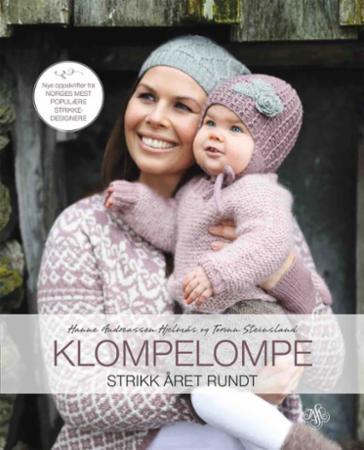 """""""Klompelompe - strikk året rundt"""" av Hanne Andreassen Hjelmås"""