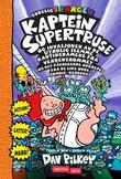 """""""Kaptein Supertruse og invasjonen av de utrolig slemme kantinedamene fra verdensrommet (og det påfølgende angrepet fra de like onde zombie-nerdene)"""" av Dav Pilkey"""
