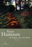 """""""En fløjte lød i mit blod - nye dikt"""" av Knut Hamsun"""