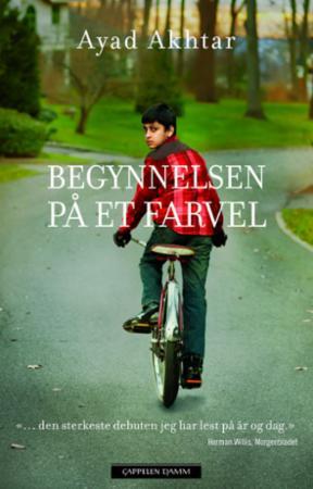"""""""Begynnelsen på et farvel"""" av Ayad Akhtar"""