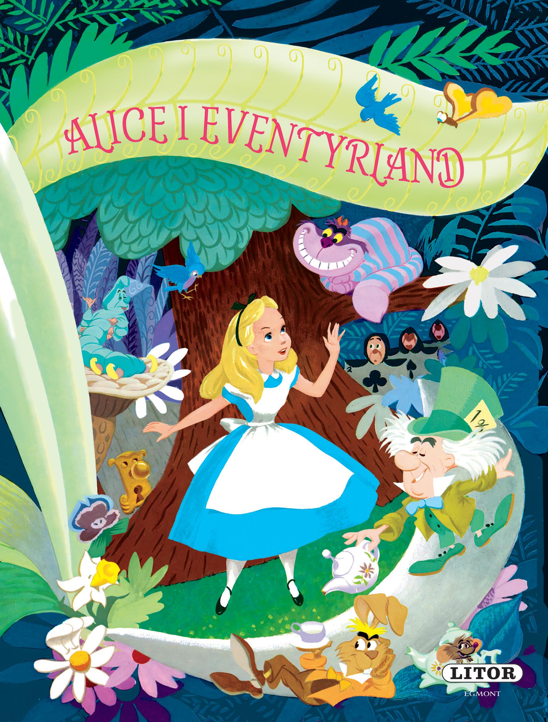"""""""Alice i Eventyrland - basert på romanen av Lewis Carroll"""" av Walt Disney Company"""