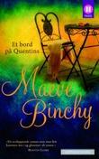 """""""Et bord på Quentins"""" av Maeve Binchy"""