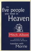 """The five people you meet in heaven"" av Mitch Albom"