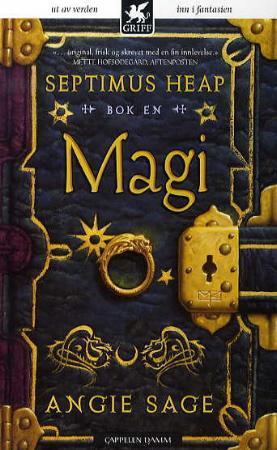 """""""Magi - Septimus Heap"""" av Angie Sage"""