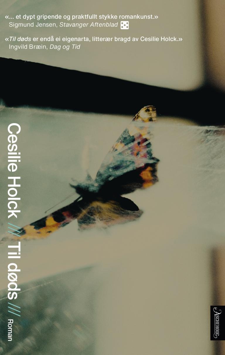 """""""Til døds - roman"""" av Cesilie Holck"""