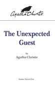 """The Unexpected Guest - Play (Acting Edition)"" av Agatha Christie"