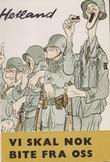 """""""Vi skal nok bite fra oss  - soldater fra perm til perm ... """" av Audun Hetland"""