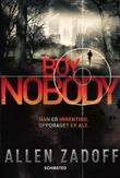 """""""Boy Nobody"""" av Allen Zadoff"""