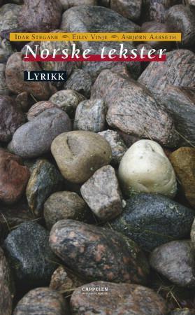"""""""Norske tekster - lyrikk"""" av Idar Stegane"""