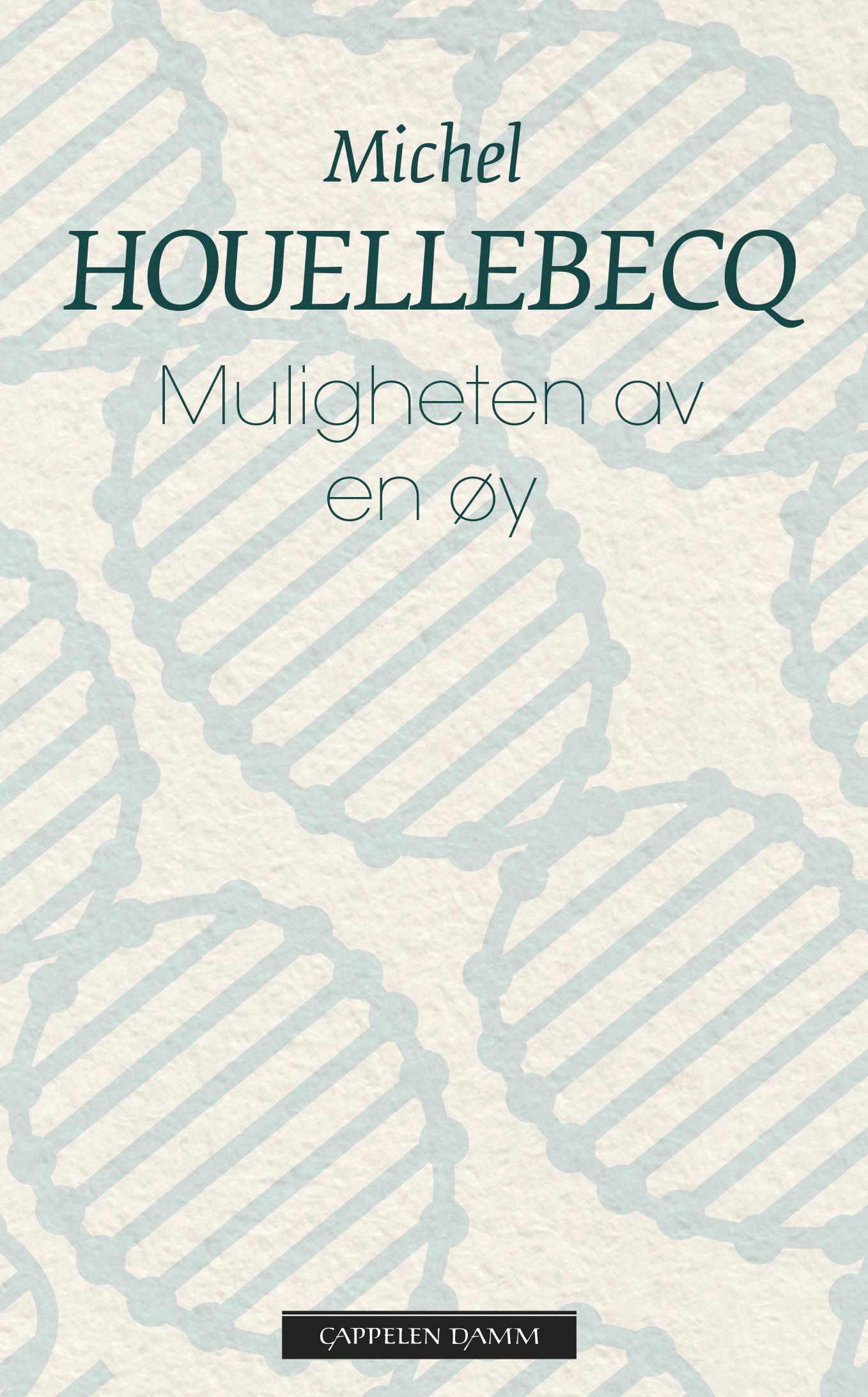 """Muligheten av en øy"" av Michel Houellebecq"