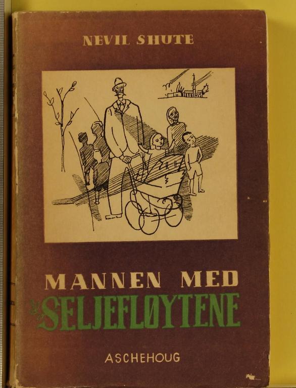 """""""Mannen med seljefløytene. Bd. 2"""" av Nevil Shute"""