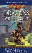 """Dragons of winter night - Dragonlance chronicles volume II"" av Margaret Weis"