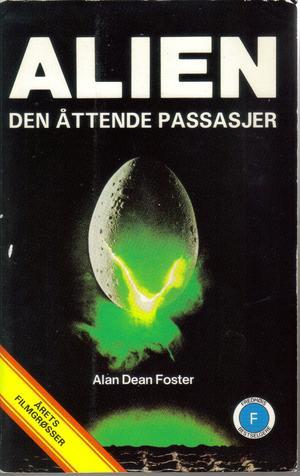 """Alien, den åttende passasjer"" av Alan Dean Foster"