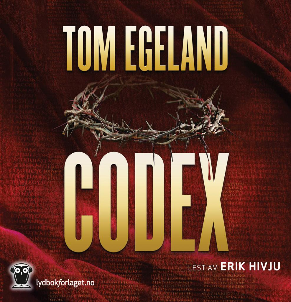 """Codex"" av Tom Egeland"