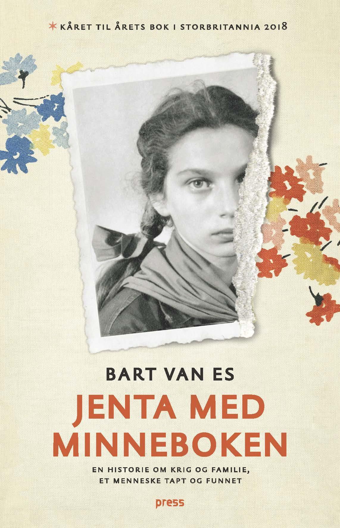 """""""Jenta med minneboken - en historie om krig og familie, og et menneske tapt og funnet"""" av Bart Van Es"""