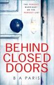 """""""Behind closed doors"""" av B.A. Paris"""