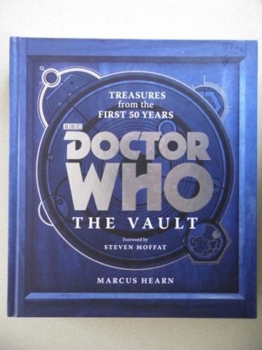 """Doctor Who The Vault Treasures from the First 50 Years"" av Marcus Hearn Steven Moffat"