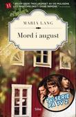 """""""Mord i august"""" av Maria Lang"""