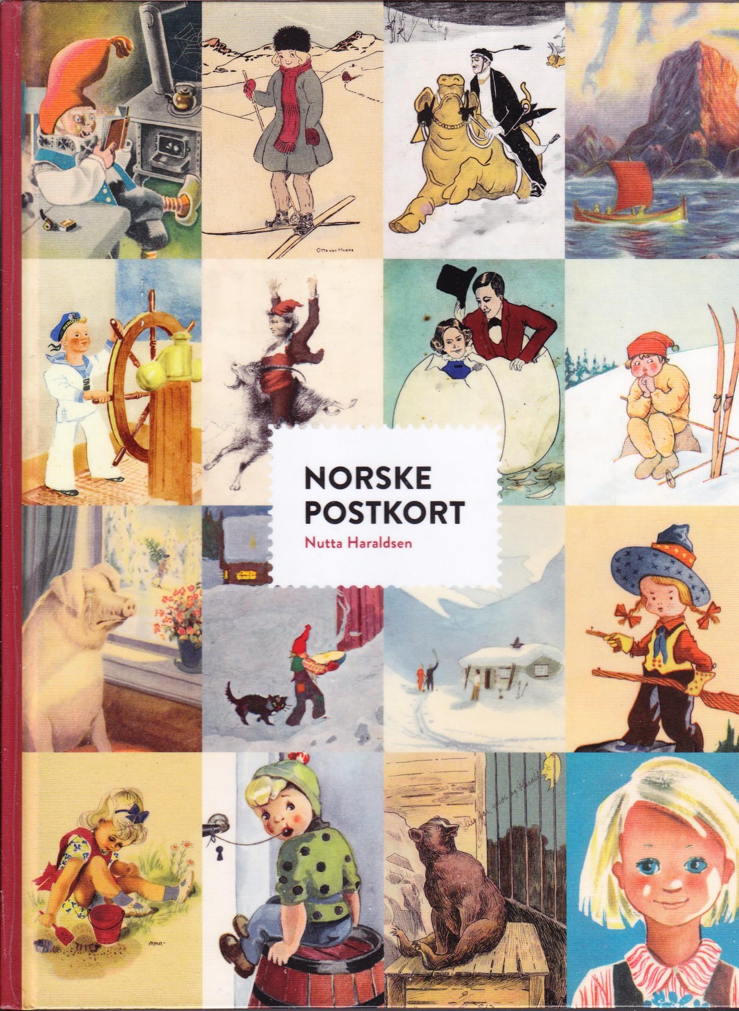 """""""Norske postkort"""" av Nutta Haraldsen"""