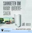 """""""Sannheten om Harry Quebert-saken"""" av Joël Dicker"""